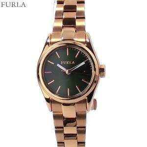 フルラ 腕時計 レディース 4253101506  FURLA EVA 25mm RG/グリーン ステンレス アウトレット|pre-ma