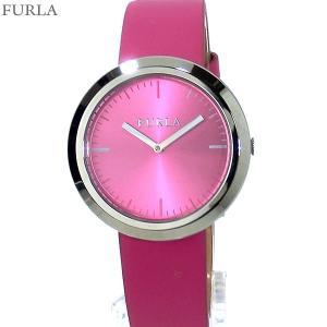 フルラ 腕時計 レディース 4251103506 FURLA VALENTINA 34mm SV/ピンク レザー アウトレット特価|pre-ma
