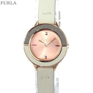 フルラ 腕時計 レディース 4251109523  FURLA CLUB 26mm RG/アイボリー レザー 替えベゼル付 No.1【アウトレット特価】|pre-ma