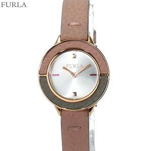 フルラ 腕時計 レディース 4251109509  FURLA CLUB 26mm SV/ピンクグレー レザー 替えベゼル付【アウトレット特価】|pre-ma