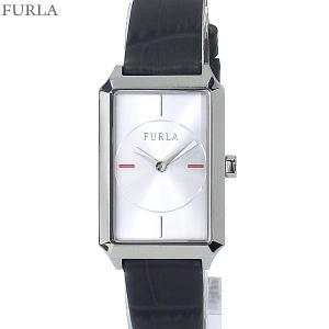 フルラ 腕時計 レディース 4251104503  FURLA DIANA スクエア  SV/グレー レザー  アウトレット|pre-ma