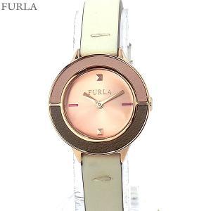 フルラ 腕時計 レディース 4251109523  FURLA CLUB 26mm RG/アイボリー レザー 替えベゼル付 No.2【アウトレット特価】|pre-ma