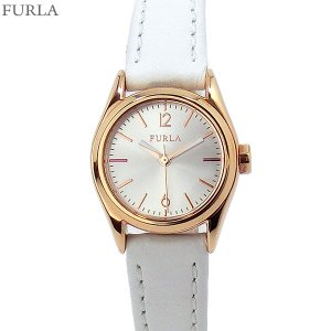 フルラ 腕時計 レディース 4251101505  FURLA EVA 25mm RG/ホワイト レザー アウトレット|pre-ma
