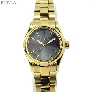 フルラ 腕時計 レディース 4253101507  FURLA EVA 25mm YG/グレーフェイス ステンレス アウトレット|pre-ma
