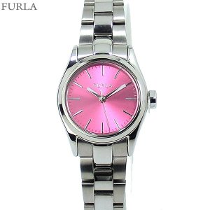 フルラ 腕時計 レディース 4253101509  FURLA EVA 25mm SV/ピンクフェイス ステンレス アウトレット|pre-ma