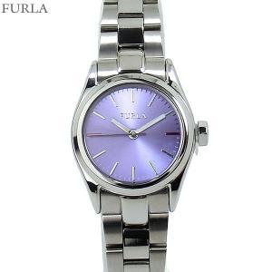 フルラ 腕時計 レディース 4253101516  FURLA EVA 25mm SV/ライラックフェイス ステンレス アウトレット|pre-ma