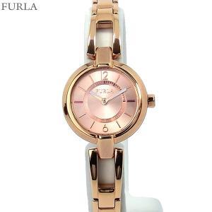 フルラ 腕時計 レディース 4253106501  FURLA LINDA 25mm ローズゴールド ステンレスブレス アウトレット|pre-ma