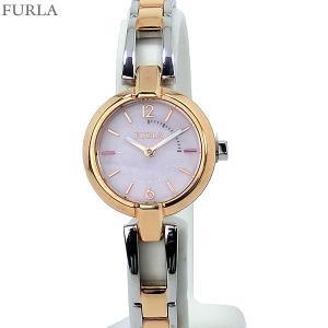フルラ 腕時計 レディース 4253106502  FURLA LINDA 25mm ローズゴールド/シルバー ステンレスブレス アウトレット|pre-ma