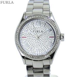 フルラ 腕時計 レディース 4253101515  FURLA EVA 35mm シルバー クリスタル ステンレス アウトレット|pre-ma