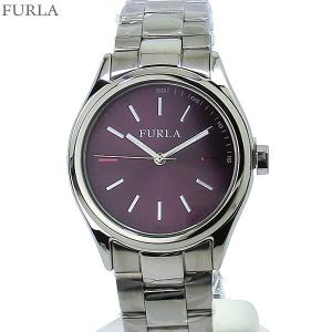 フルラ 腕時計 レディース 4253101504  FURLA EVA 35mm シルバー/バイオレット ステンレス アウトレット|pre-ma