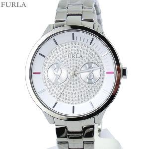 フルラ 腕時計 レディース 4253102516  FURLA METROPOLIS 38mm シルバー クリスタル ステンレス アウトレット特価|pre-ma