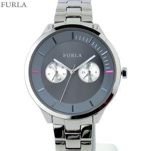 フルラ 腕時計 レディース 4253102502  FURLA METROPOLIS 38mm シルバー/ブルーグレー ステンレス アウトレット特価|pre-ma