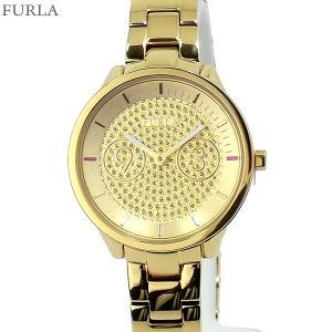 フルラ 腕時計 レディース 4253102506  FURLA METROPOLIS 31mm ゴールド クリスタル ステンレス アウトレット特価|pre-ma