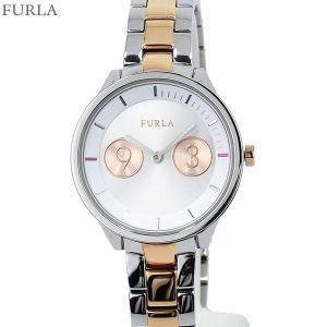フルラ 腕時計 レディース 4253102507  FURLA METROPOLIS 31mm シルバー/ローズゴールド ステンレス アウトレット特価|pre-ma