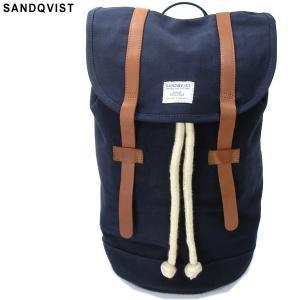 SANDQVIST サンドクヴィスト リュック/バックパック SQA228 STIG BACKPACK BLUE/ダークブルー キャンバス 決算セール|pre-ma