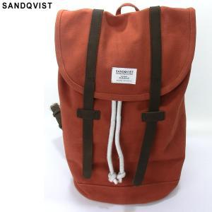 SANDQVIST サンドクヴィスト リュック/バックパック SQA240 STIG BACKPACK RED/レッド系 キャンバス 決算SSP|pre-ma