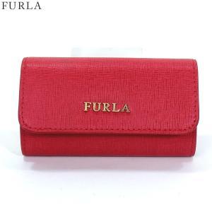 FURLA フルラ キーケース 6連 BABYLON  908406 RL71 B30 RUBY ルビー【新品アウトレット】|pre-ma