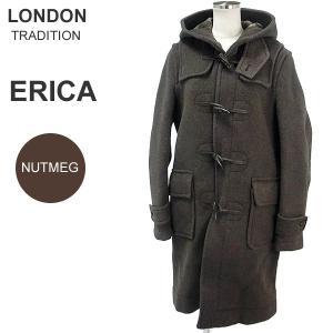 ロンドントラディション ERICA ダッフルコート ロング レディース LT-01 NUTMEG ナツメグ サイズ(36) 新品 決算SSP|pre-ma