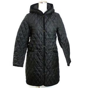 ロンドントラディション キルティングジャケット ロングコート レディース  Black/ブラック 英国製 正規品|pre-ma