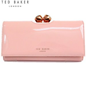TED BAKER テッドベイカー 長財布 二つ折り 142375 XH8W XL14 58  ライトピンク 新品アウトレット-J03|pre-ma