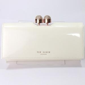 TED BAKER テッドベイカー 長財布 二つ折り 140793 XA7W XL87 97 CREAM クリーム 新品アウトレット|pre-ma