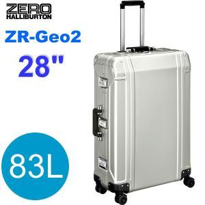 【アウトレット訳あり特価】ゼロハリバートン スーツケース/キャリーケース ZR-Geo2 ZRG228-SI アルミニウム シルバー 83L 28インチ|pre-ma