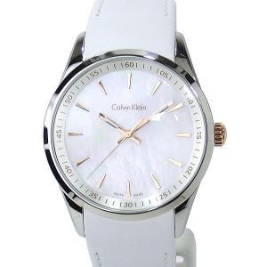 カルバンクライン メンズ腕時計 K5A31BLG 42mm ホワイトシェル/ホワイトレザー【新品アウトレット】|pre-ma