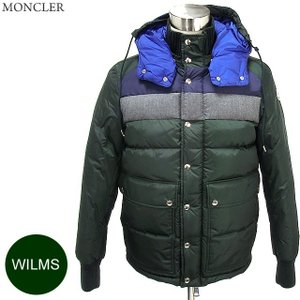 モンクレール ダウンジャケット メンズ WILMS  873/ダークグリーン ブルー・グレー  MONCLER|pre-ma