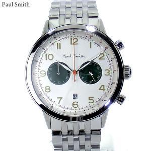 Paul Smith ポールスミス 腕時計 メンズ Precision P10016 クロノグラフ ステンレスベルト 42mm 新品|pre-ma