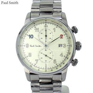 Paul Smith ポールスミス 腕時計 メンズ Block P10142 クロノグラフ ステンレスベルト 41mm 新品|pre-ma