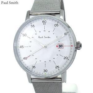 Paul Smith ポールスミス 腕時計 メンズ Gauge P10075 ステンレス スライドベルト 41mm 新品|pre-ma