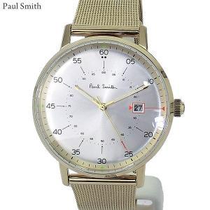 Paul Smith ポールスミス 腕時計 メンズ Gauge P10130 ステンレス スライドベルト 40mm ゴールド 新品|pre-ma