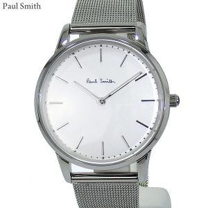 Paul Smith ポールスミス 腕時計 メンズ Slim スリム PS0100003 ステンレス スライドベルト 40mm シルバー 新品|pre-ma
