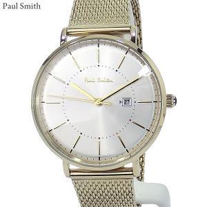 Paul Smith ポールスミス 腕時計 メンズ Petit Track  PS0070002 ステンレス スライドベルト 38mm ゴールド 新品|pre-ma