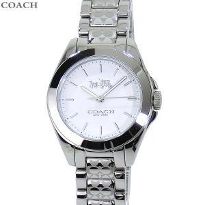 コーチ COACH  レディース 腕時計 14502183 TRISTEN MINI トリステンミニ ステンレス シルバー/ホワイト|pre-ma