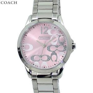 コーチ COACH  レディース 腕時計 クラシック シグネチャー 14501617 32mm ステンレス ピンク 新品|pre-ma
