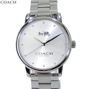 コーチ COACH  レディース 腕時計 14502926 GRAND グランド ステンレス シルバー 36mm|pre-ma