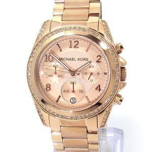 マイケルコース レディース 腕時計 MK5263 クロノグラフ ピンクゴールド 39mm MICHAEL KORS【アウトレット展示品】|pre-ma