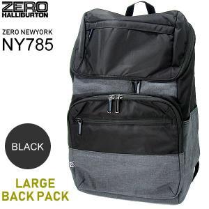 ゼロニューヨーク  ZERO NEWYORK リュック バックパック UPTOWN  80785 NY785-BK ラージ ブラック 新品|pre-ma
