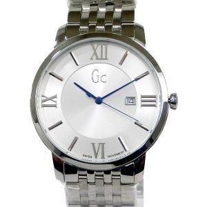 GC ジーシー メンズ腕時計 X60015G1S SLIM CLASS スリム デイト ステンレス  SWISS MOVEMENT GUESS 新品|pre-ma