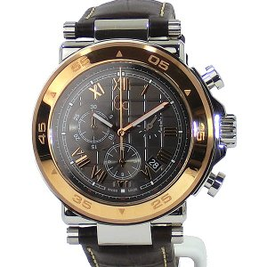 GC ジーシー メンズ腕時計 X90005G2S Gc-1 Class クロノグラフ ブラウンレザー  SWISS MADE GUESS 新品|pre-ma