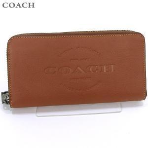 コーチ COACH  長財布 ラウンドファスナー F24648  SAD レザー ブラウン SADDLE  アウトレット|pre-ma