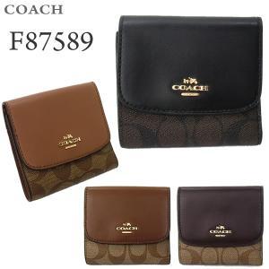 コーチ COACH  財布 二つ折り F87589 アウトレット|pre-ma
