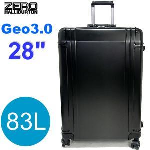 ゼロハリバートン スーツケース/キャリーケース Geo3 ZRG2528-BK アルミニウム ブラック 83L 28インチ 新品限定1点|pre-ma