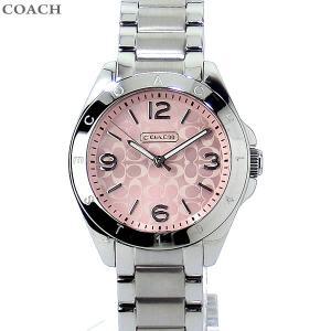 コーチ COACH  レディース 腕時計 トリステン 14501782 32mm ステンレス ピンク 新品|pre-ma