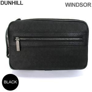 ダンヒル セカンドバッグ メンズ DUNHILL  WINDSOR ウィンザー L3K791A / ブラック|pre-ma