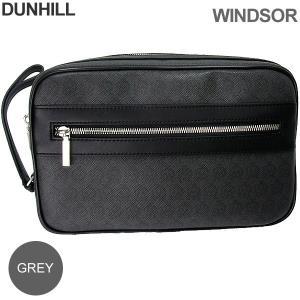ダンヒル セカンドバッグ メンズ DUNHILL  WINDSOR ウィンザー L3W791Z / グレー 決算SSP|pre-ma