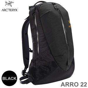 ARC'TERYX アークテリクス ARRO アロー 22  バックパック/リュック 22L 6029 ブラック|pre-ma