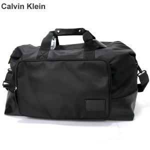 カルバンクライン ボストンバッグ ダッフル 75030996-BLK BK ブラック ナイロン 【アウトレット特価】|pre-ma