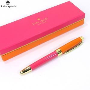 【アウトレット・在庫処分】ケイトスペード ボールペン 133740 オレンジ&ピンク  KATE SPADE|pre-ma